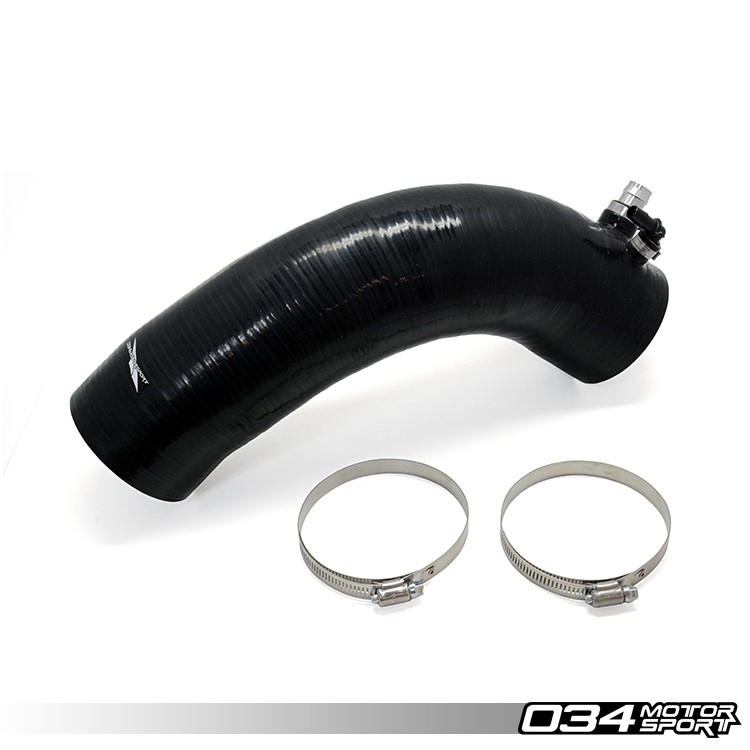Silicone Throttle Body Inlet Hose, High-Flow, B8 Audi S5 4.2L FSI V8