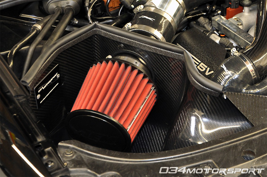 X34 Carbon Fiber Cold Air Intake (CAI) for B5 Audi S4/RS4 2.7T
