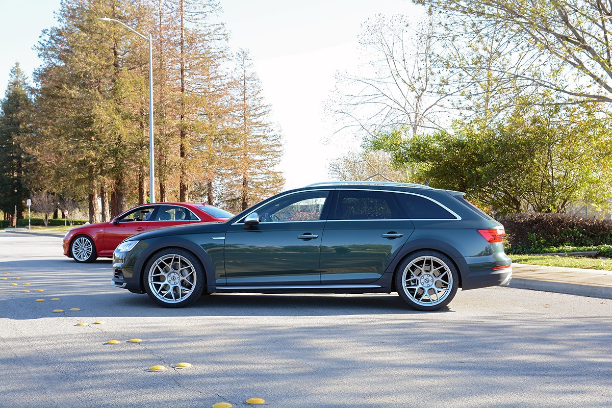 Dynamic+ Lowering Springs for B9 Audi A4/Allroad