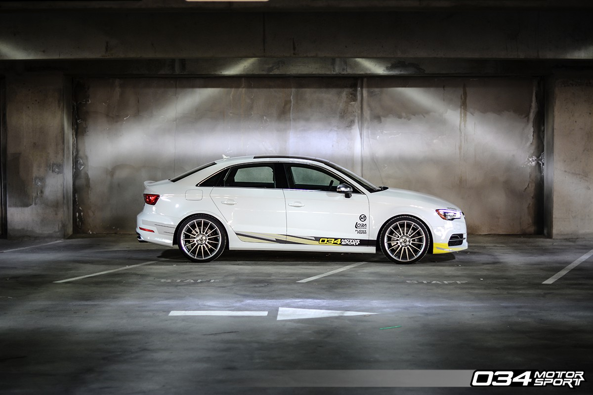 Dynamic+ Lowering Springs, 8V Audi A3/S3 Quattro Performance Spring Set