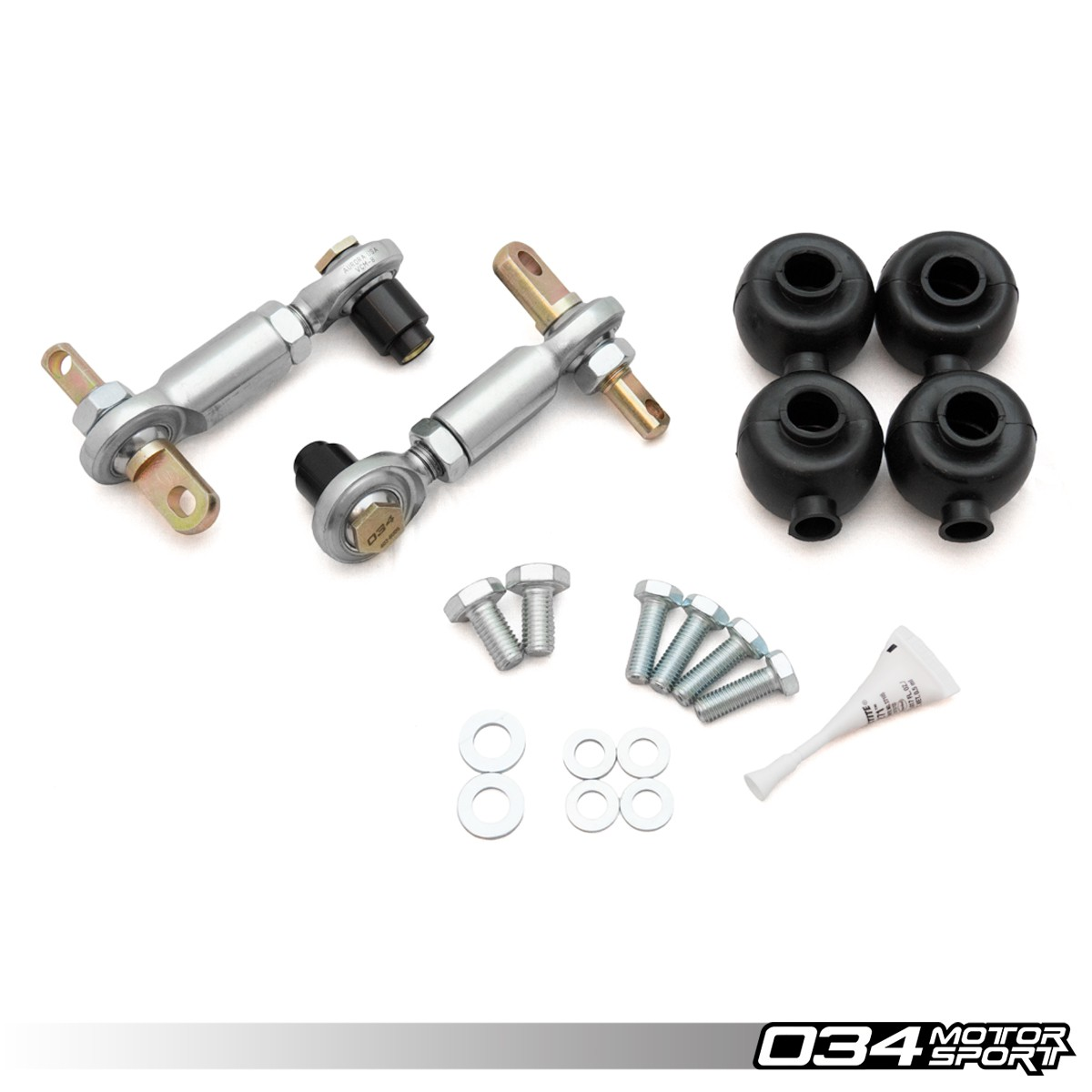 Sway Bar End Links, Motorsport, Rear, Adjustable, B6/B7 Audi A4/S4/RS4 Quattro & FWD
