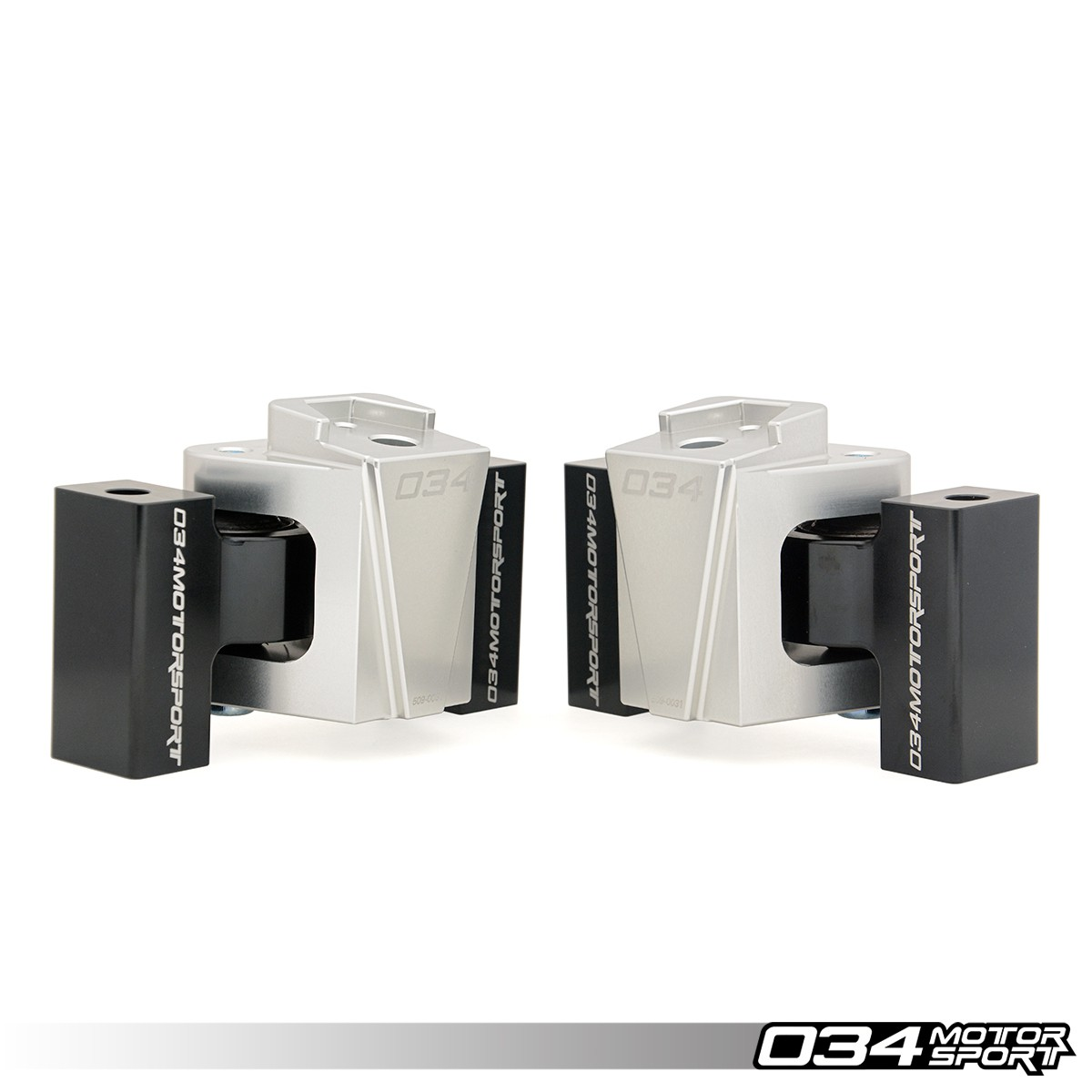 Billet Motorsport Engine Mount Pair, B8/B8.5 Audi A4/S4, A5/S5, Q5/SQ5