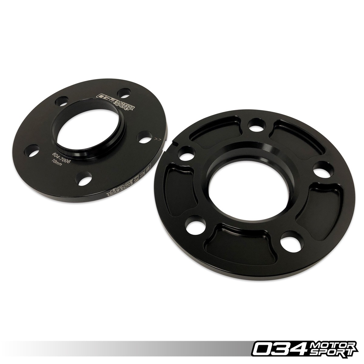 WHEEL SPACER PAIR, 10MM, AUDI 5X112MM WITH 66.5MM CENTER BORE