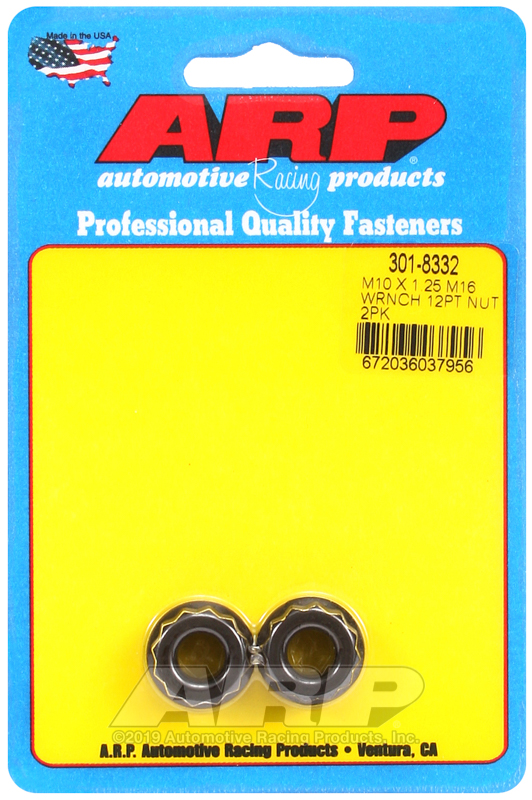 M10 X 1.25 M16 socket 12pt nut kit