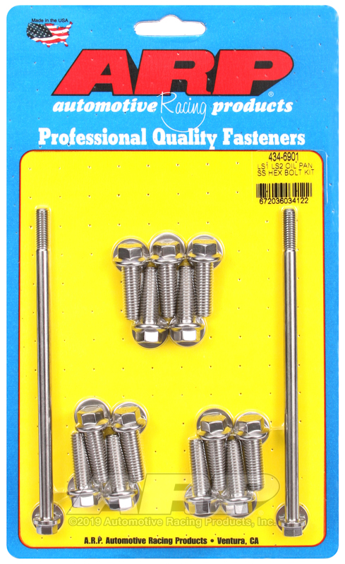 LS1 LS2 SS hex oil pan bolt kit