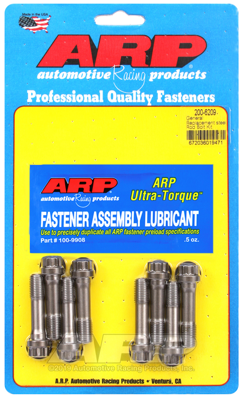 "3/8"" General replacement ARP2000 rod bolt kit"