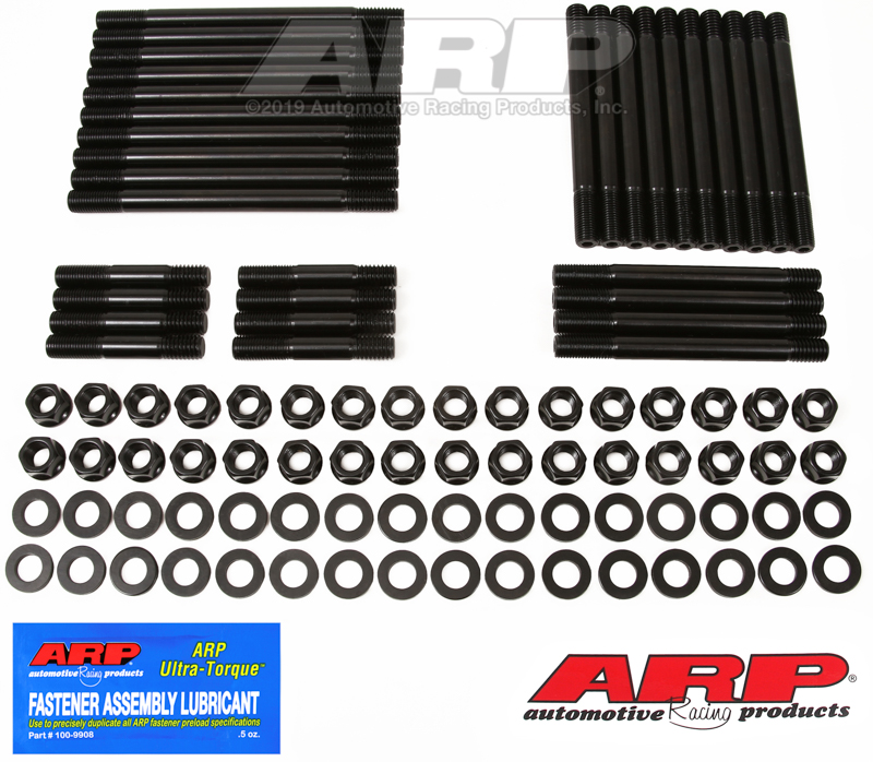 BB Chevy Merlin - World hex head stud kit (10 long studs)