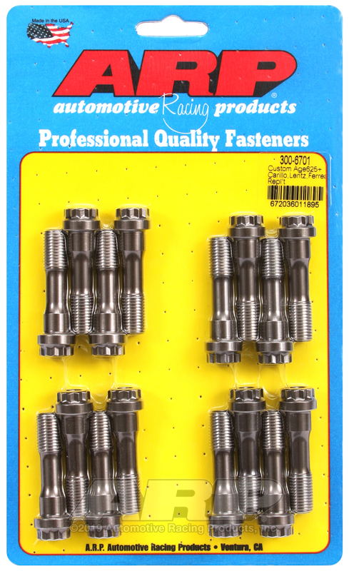 "7/16"" CA625+ Carrillo,Lentz,Ferrea rod bolts"