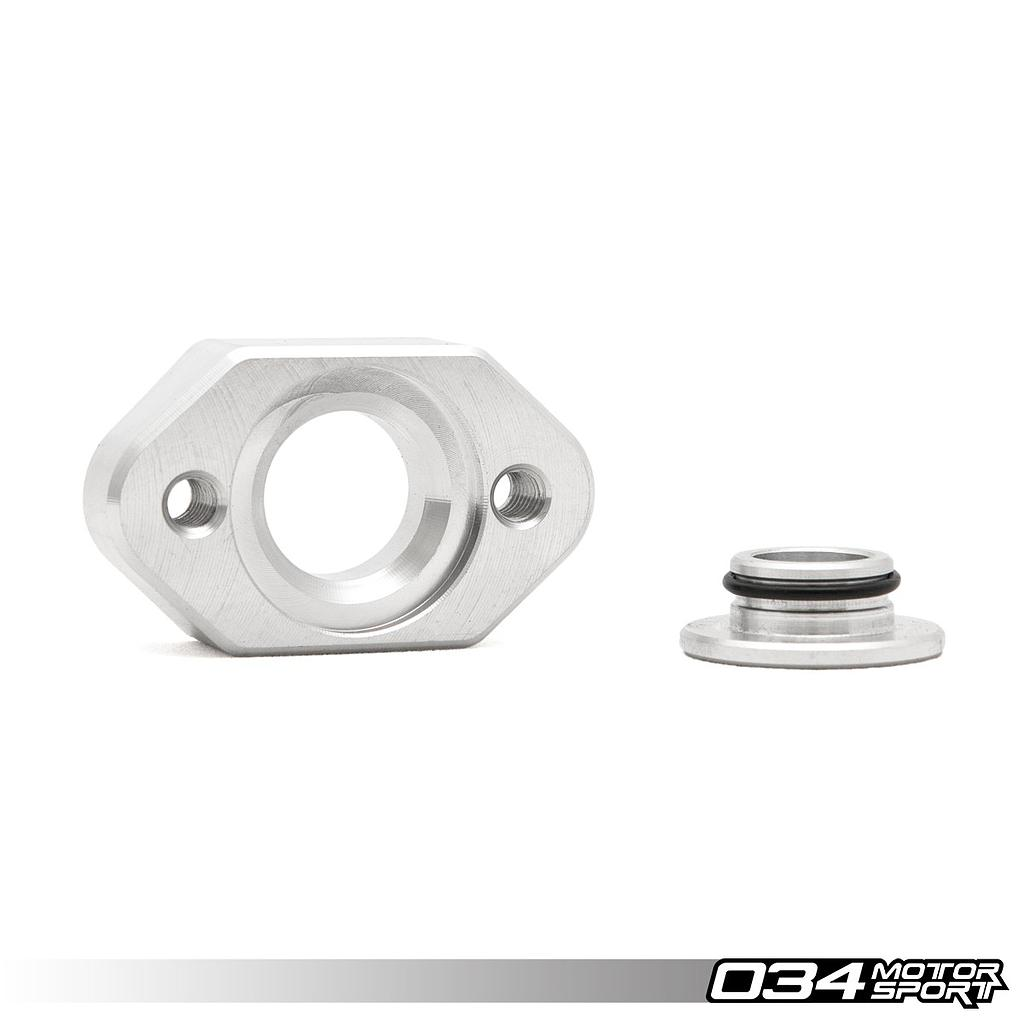 FLANGE, MAP SENSOR ADAPTER, VW/AUDI, ALUMINUM
