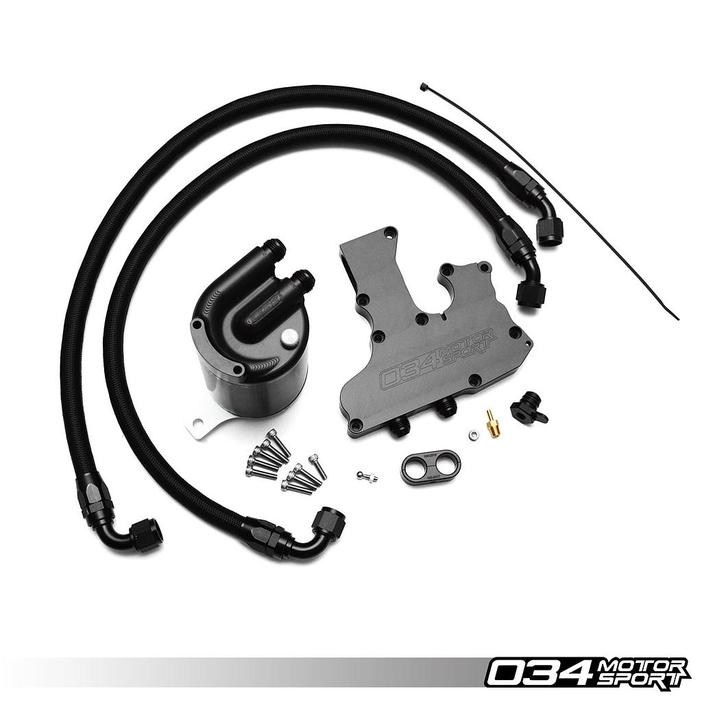 CATCH CAN 034 MOTORSPORT POUR AUDI TT / A3 (8J / 8P), GOLF GTI / GLI 2.0TSI (5 & 6)