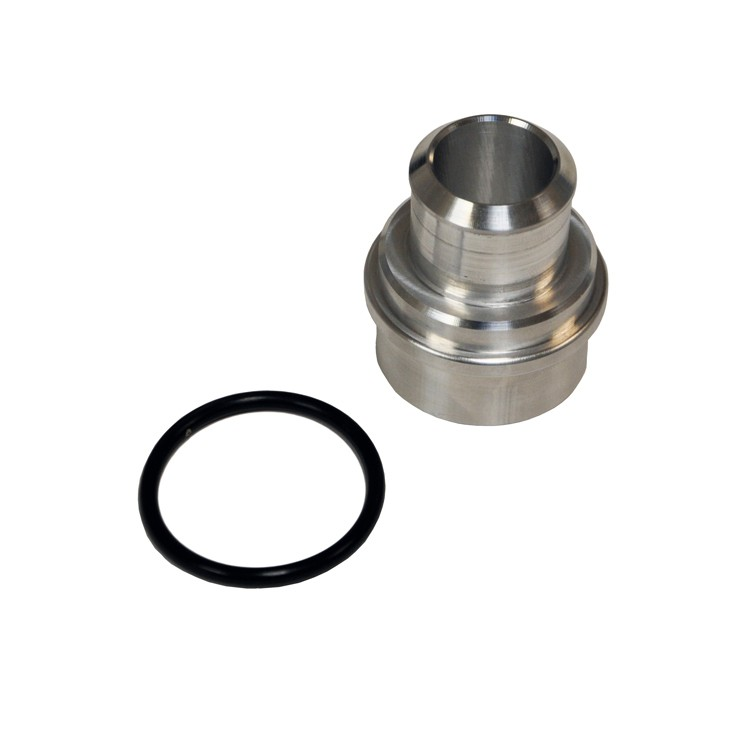 "Block Breather Adapter, Audi/Volkswagen 1.8T, Billet Aluminum, 1"" Nipple"