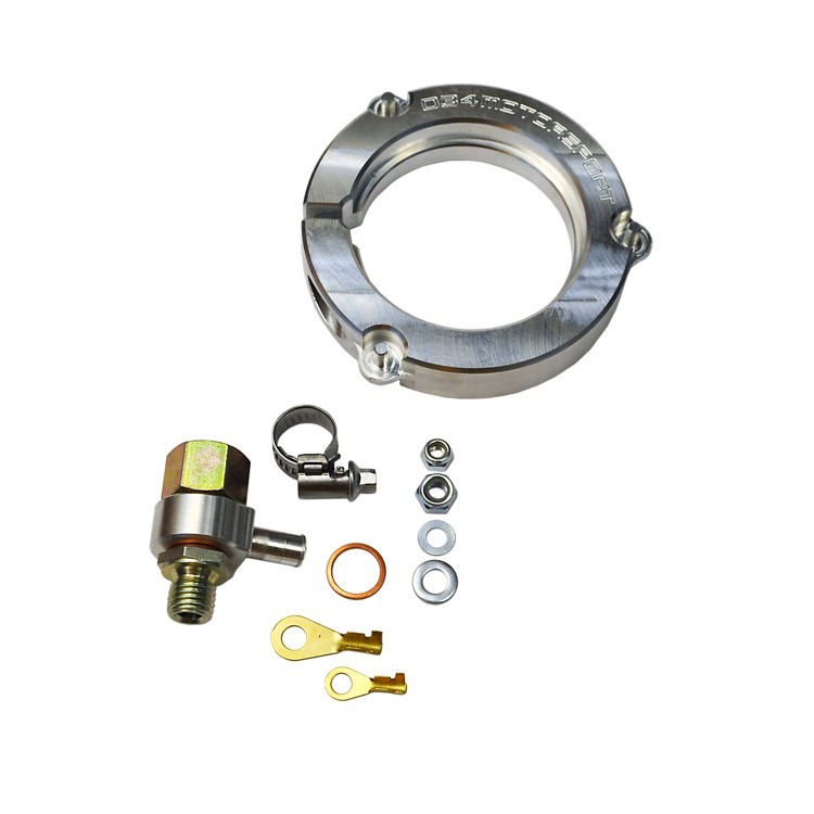 Billet Drop-In Fuel Pump Adapter Kit, Bosch 60mm
