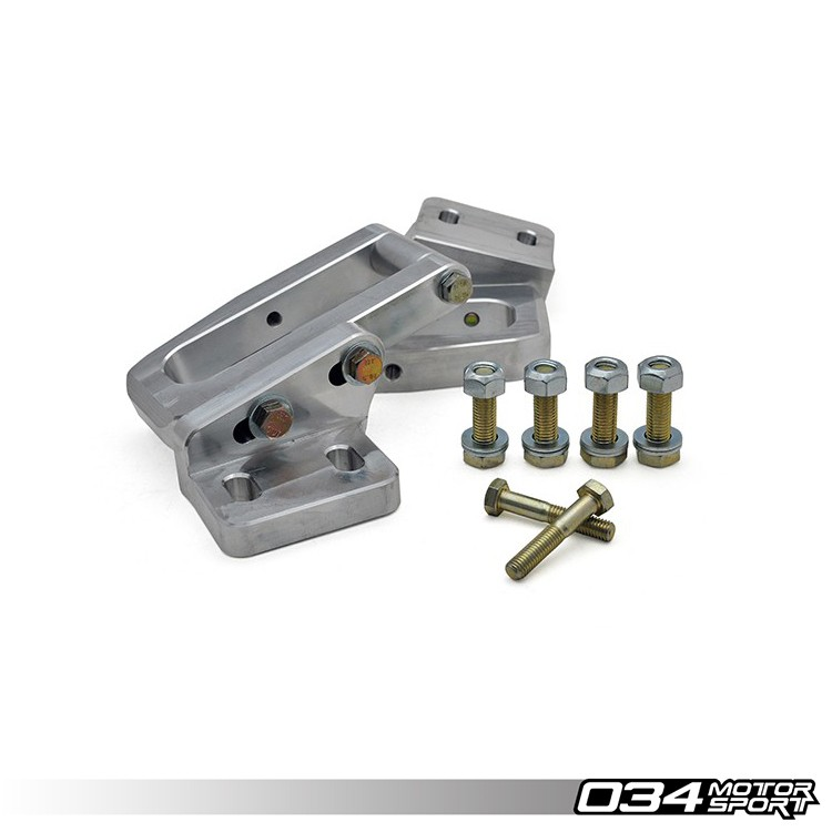 Billet Aluminum Rear Subframe Reinforcement Kit, B4/B5 Audi RS2 & A4/S4/RS4 Quattro