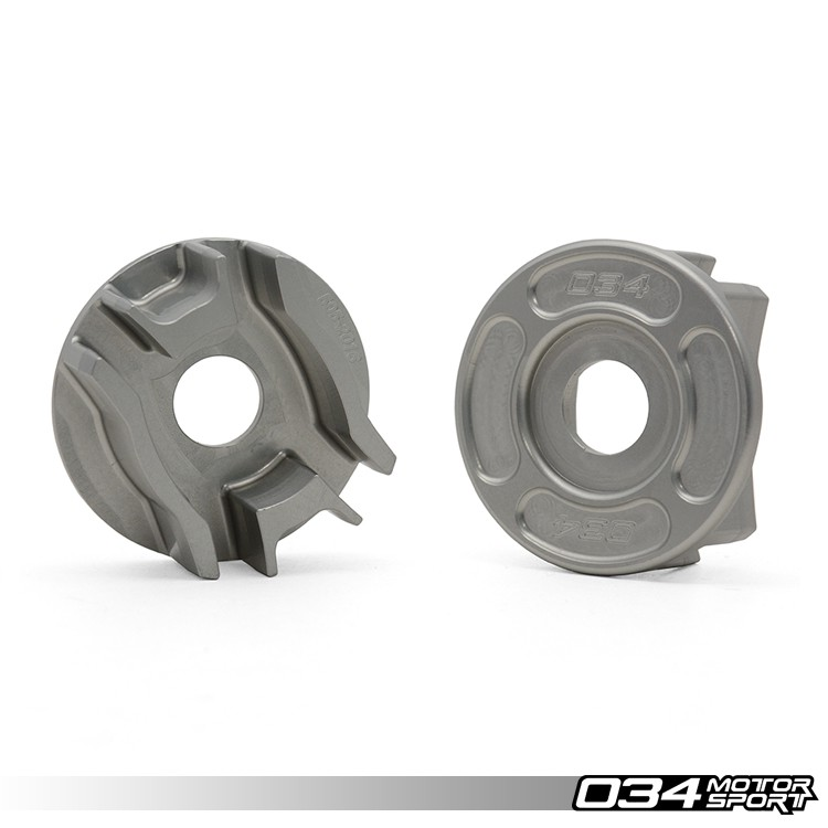 Billet Aluminum Rear Differential Carrier Mount Insert Kit, B8 Audi A4/S4/RS4, A5/S5/RS5, Q5/SQ5 & C7 Audi A6/S6/RS6, A7/S7/RS7