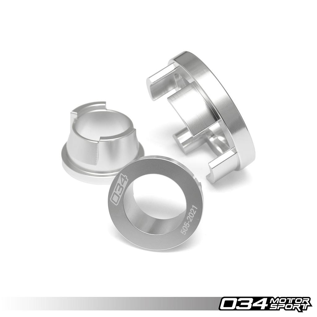 Billet Aluminum Rear Differential Mount Insert Kit, B9 Audi A4/S4 & Allroad