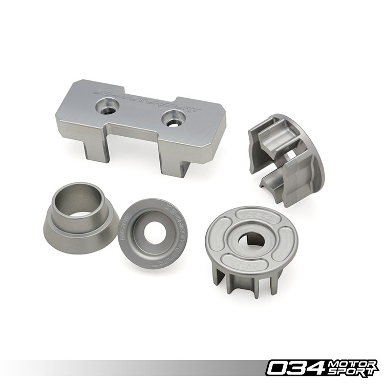 PACK INSERTS ALU TRANSMISSION 034 MOTORSPORT POUR AUDI A4 / S4 / RS4, A5 / S5 / RS5, Q5 / SQ5
