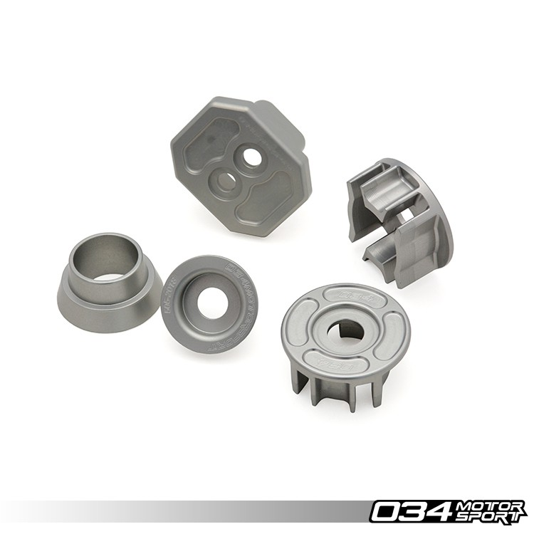 PACK INSERTS ALU TRANSMISSION 034 MOTORSPORT POUR AUDI A6 / S6 / RS6, A7 / S7 / RS7 (C7 / C7.5)