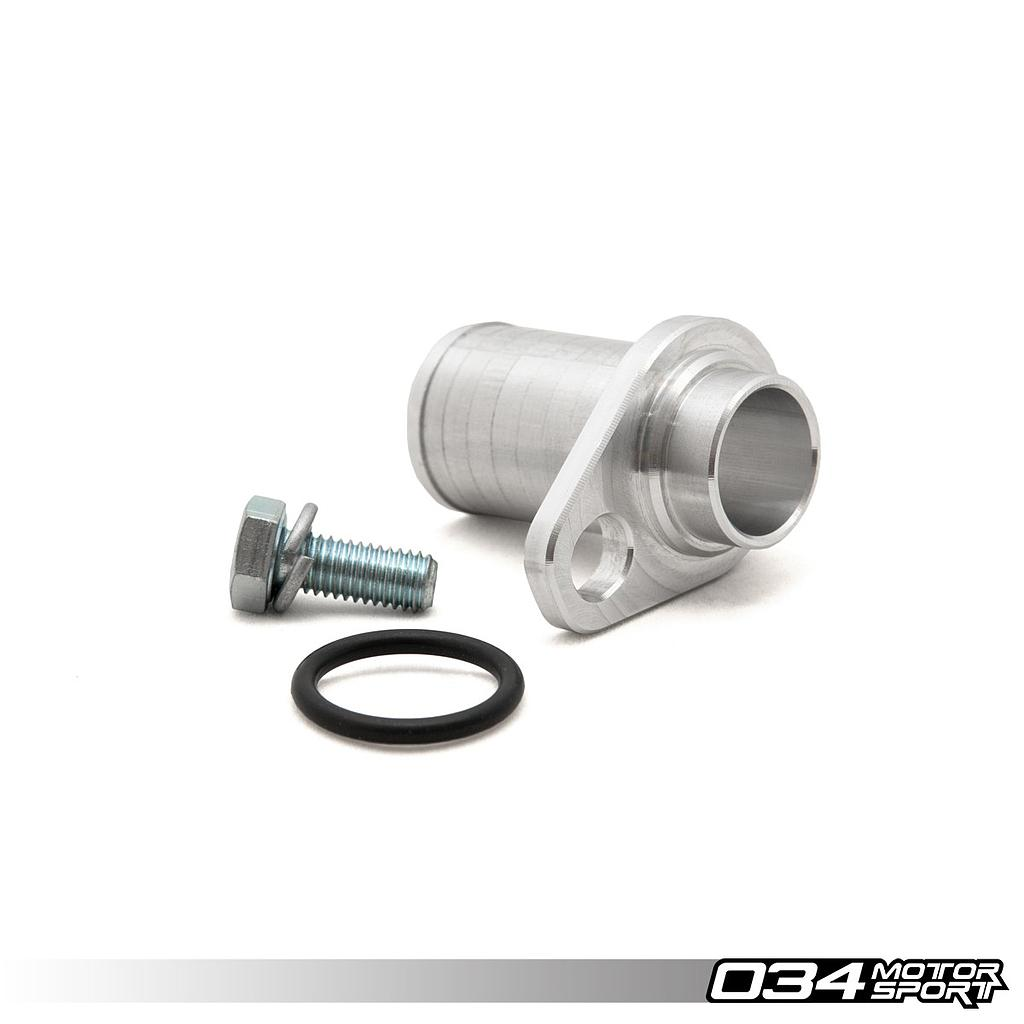 BLOCK COOLANT ADAPTER, REAR AUDI I5 20V, LATE (25MM)
