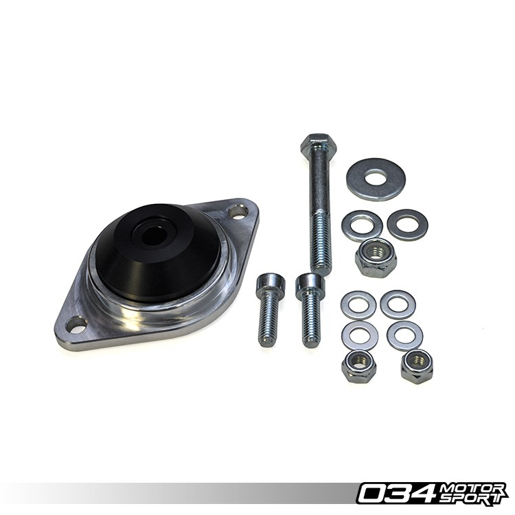 TRANSMISSION/DIFFERENTIAL MOUNTS, EARLY AUDI, MOTORSPORT SPEC, BILLET ALUMINUM & DELRIN