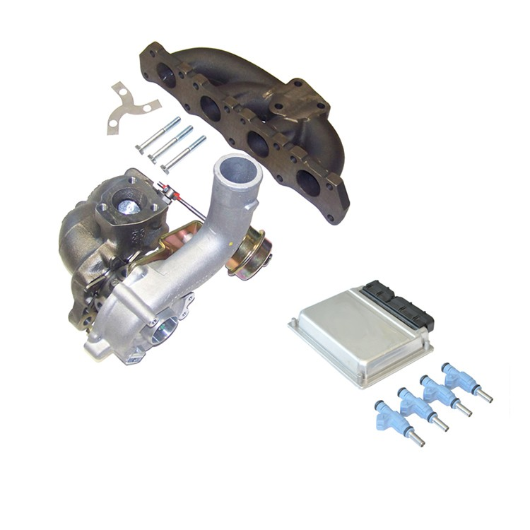 COMPLETE K04-001 TURBO UPGRADE KIT WITH SOFTWARE & FUELING, TRANSVERSE VOLKSWAGEN/AUDI 1.8T