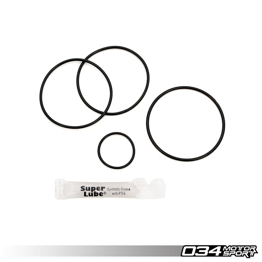 REBUILD KIT, 034MOTORSPORT BILLET DIVERTER (BYPASS) VALVE UPGRADE FOR AUDI & VOLKSWAGEN 1.8T, 2.2T, 2.7T, 4.2T