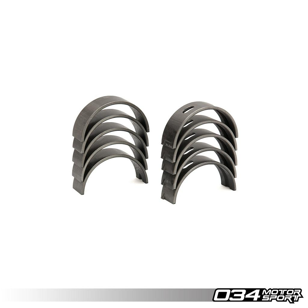 MAIN BEARING SET, 4-CYL AND 1.8T, COATED