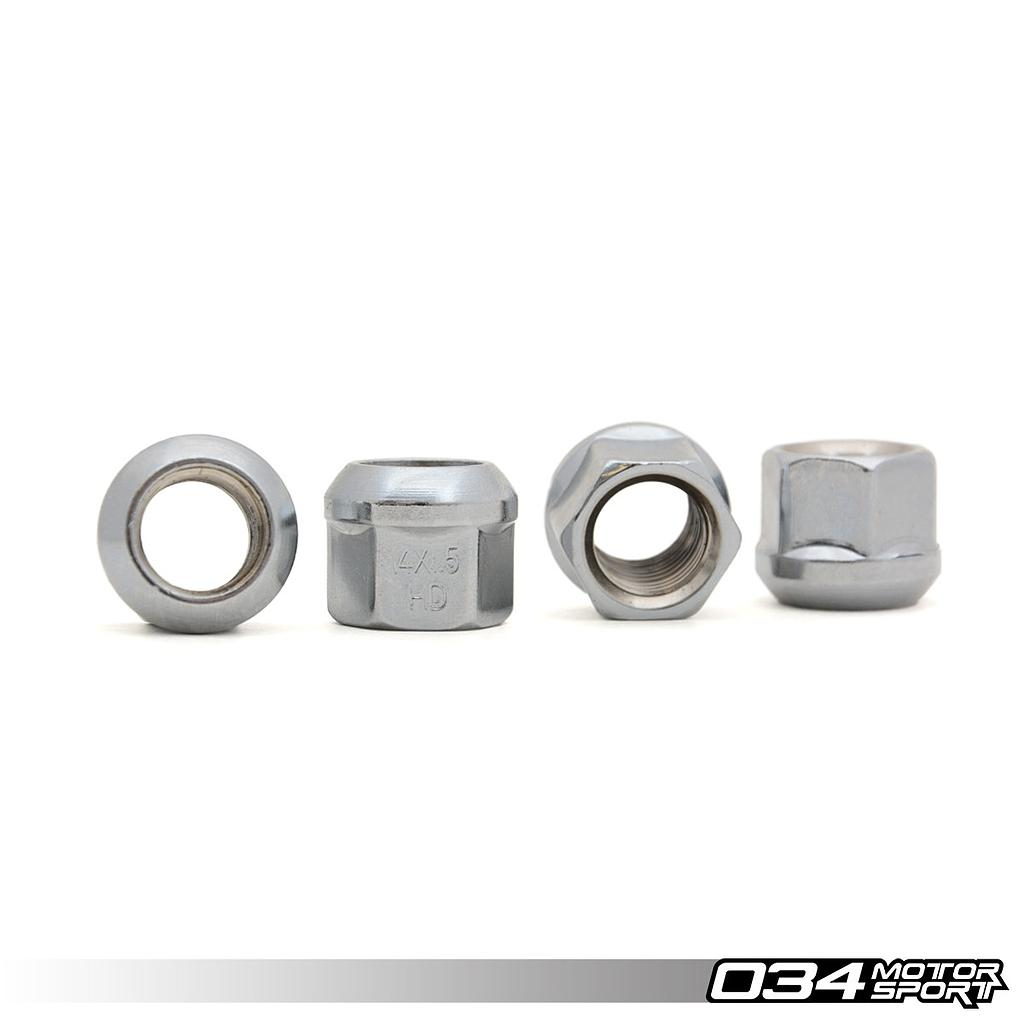 WHEEL NUT, AUDI/VW R13 BALL SEAT, M14X1.5
